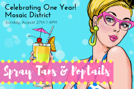SPRAY TANS & POPTAILS Email